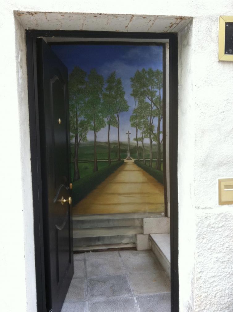 Puerta parque
