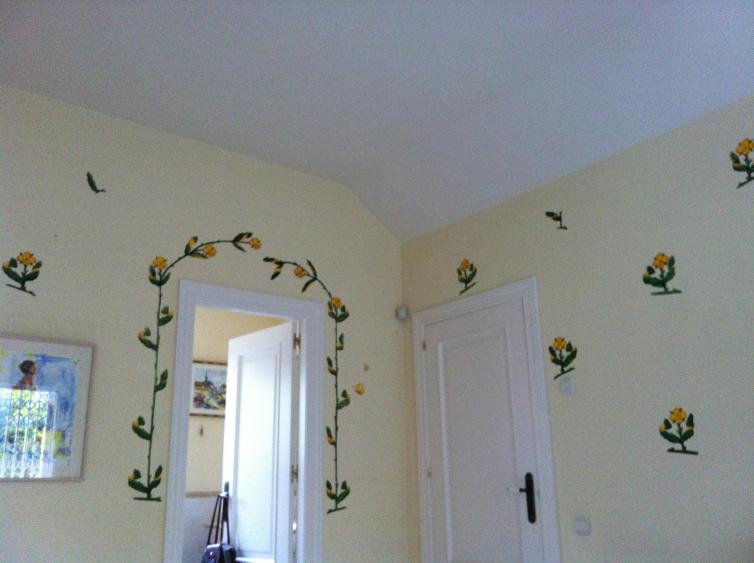 Flores habitación 5
