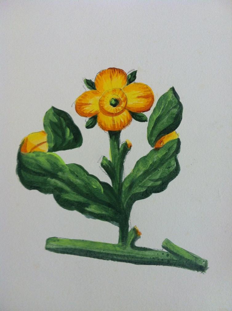 Flores habitación 2