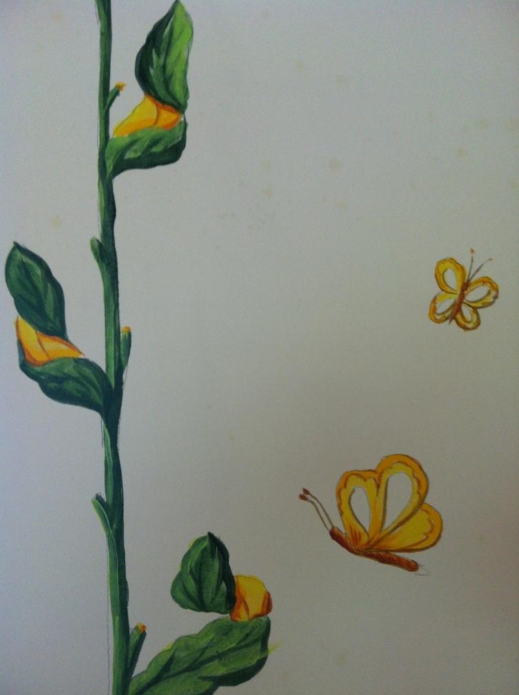 Flores habitación
