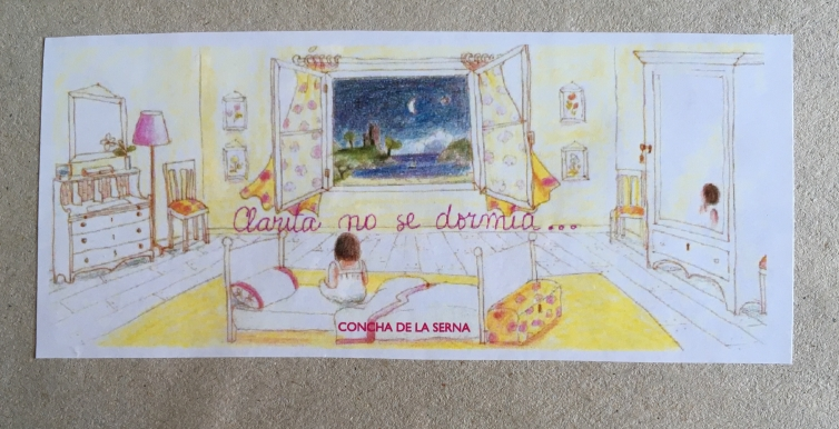 Ilustración 2 – clarita no dormia